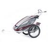 Thule CX 2 + zestaw do roweru  Przyczepka rowerowa czerwony